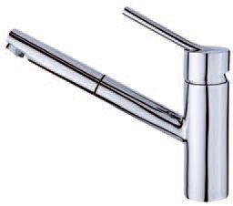 TEKA Vita álló mosogató csaptelep, kihúzható fejjel / zuhanyfejjel, VTK 978, 24.978.02.00 / 249780200 / 249780200-H