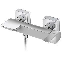 TEKA Formentera zuhany csaptelep, zajcsökkentő elemek, festett felület, fehér/króm 62.231.02.0BC / 62231020BC
