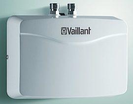 Vaillant miniVED H 6/2 N nyitott rendszerű átfolyós vízmelegítő / villanybojler / bojler 0010018602 / 0010009481 H 6/1 N utódja