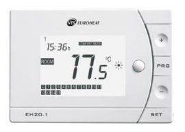VTS EUROHEAT VOLCANO VR programozható termosztát EH20.1 cikkszám: 1-4-0101-0039