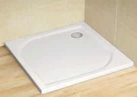RADAWAY Delos C 900x900x45 cm szögletes akril zuhanytálca szifonnal SDC0909-01