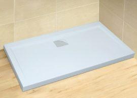 RADAWAY Argos D 900x1100x55 cm szögletes akril zuhanytálca, szifonnal, lapos kivitel 4AD911-01