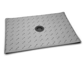 RADAWAY Téglalap alakú zuhanytálca padlóösszefolyóval  99x89 / Burkolható zuhanytálcák / aszimmetrikus zuhanytálca / 5DK1009-X