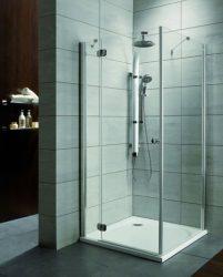 RADAWAY Torrenta KDJ 100 B szögletes zuhanykabin 100x100x185 / balos / 05 grafit üveg / 32444-01-01L