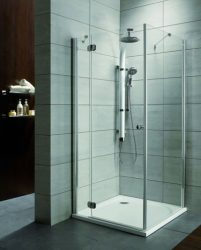 RADAWAY Torrenta KDJ 100 J szögletes zuhanykabin 100x100x185 / jobbos / 01 átlátszó üveg / 32444-01-01R