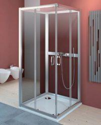 RADAWAY Premium Plus C+2S zuhanyajtó 90x90x190 / 01 átlátszó üveg / 30453-01-01N
