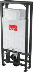 AlcaPLAST  A116/1200 Solomodul - falba építhető / beépíthető / falsík alatti / befalazható WC tartály (térbe helyezhető)