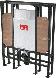AlcaPLAST  A116/1300H Solomodul - falba építhető / beépíthető / falsík alatti / befalazható WC tartály (térbe helyezhető)