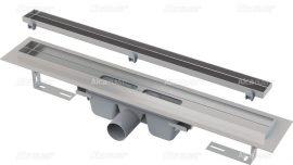 AlcaPLAST  APZ7 Floor-300 zuhanyfolyóka peremmel / rács behelyezésére / alaptest