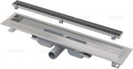 AlcaPLAST  APZ107-FLOOR-550 Floor Low / Alacsony zuhanyfolyóka peremmel / rács behelyezésére