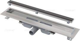 AlcaPLAST  APZ107-FLOOR-650 Floor Low / Alacsony zuhanyfolyóka peremmel / rács behelyezésére