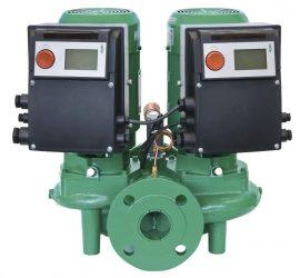 WILO VeroTwin DP-E 32/110-0,75/2 Elektronikusan szabályzott száraztengelyű ikerszivattyú / 2109778