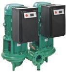 WILO CronoTwin DL-E 80/130-5,5/2 Elektronikusan szabályzott száraztengelyű ikerszivattyú inline kivitelben / 2101956