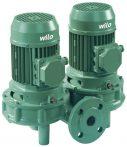 WILO VeroTwin DPL 40/160-0,37/4 Száraztengelyű szivattyú in-line kivitelben karimás csatlakozással / 2089621