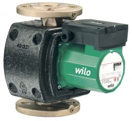 WILO TOP-Z 25/6 EM PN10 Menetes vagy karimás csatlakozású nedvestengelyű cirkulációs szivattyú / 2045521