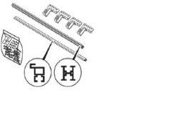 HelioPLAN, Tetőhorog készlet/ 0020174050