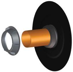 HL800/125 Csőáttörés szigetelő készlet DN125 bitumengallérral
