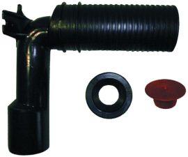 HL34/56 Sifonkönyök DN40/50 rövidíthető bemenet, dugható tömítés, a szifoncsőhöz DN32 und DN40