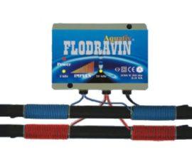 Flodravin Aquativ Plussz elektromos vízlágyító készülék, vízkő mentesítő, hideg-melegvízre