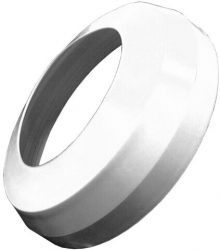 HL7EL/90WE WC-rozetta elasztikus DN90 fehér