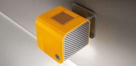 Elica 35CC ISLAND DYNAMIQUE design / designer páraelszívó, szagelszívó, narancssárga