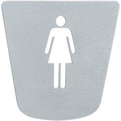 TEKA MX900 / 769000200 / 76.900.02.00 rozsdamentes acél mosdótábla női piktogrammal