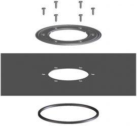 HL83.3020 Szigetelő készlet szövetkasírozott szigetelő fóliával 400x400mm, a becsempézhető lefolyólapos padlólefolyó összeállításokhoz