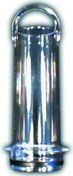HL515 Plexi túlfolyócső 100x37mmx6/4'