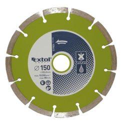 EXTOL CRAFT gyémántvágó szegmenses, száraz és vizes vágásra 115mm / 108611 / (MB)