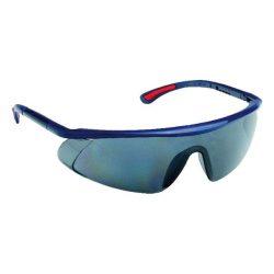 Szemüveg BARDEN füstszínű AF, AS, UV, állítható szárú, páramentes, karcálló, PC látómezővel / védőszemüveg