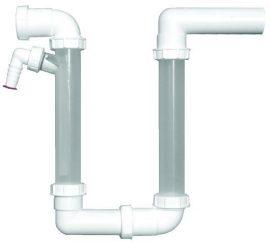 HL136.2 Kondenzvíz gyüjtő DN40, átlátszó ellenőrzőcsővel