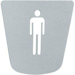 TEKA MX901 / 769010200 / 76.901.02.00 rozsdamentes acél mosdótábla férfi piktogrammal