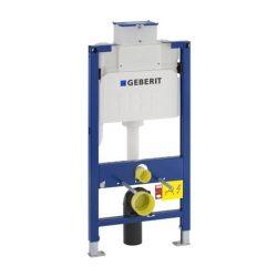 Geberit Alacsony (98cm) Duofix WC szerelőelem fali WC részére Kappa (UP200) öblítőtartállyal / 111.290.00.1 / 111290001