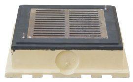 HL635 Szivárogtató szekrény 362x362mm/240x240mm alumíniumból