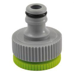 """EXTOL CRAFT locsoló kuplung csatlakozó, belsőmenetes, kicsavarható szűkítővel 3/4'', és 1"""" / 70106 / (MB)"""