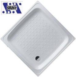 SMAVIT acéllemez / lemez zuhanytálca szögletes 80x80 cm (80x80x8 cm)
