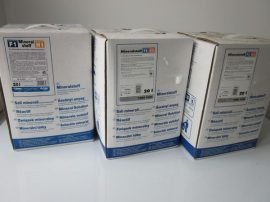 BWT,Bewados adagolástechnika ásványi anyag adagolásásra, Bewados E3 modulhoz, Quantophos Mineralstoff F1 / H1 4X3 kg i.UMK, Cikkszám: 18022