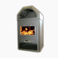 Radeco LOTOS MAX B ST LOT M B  acéllemez vízteres kályha kandalló központi fűtésre nyitott rendszerre