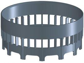 HL150 Vízátvezető gyűrű a HL3100T és HL5100T teraszlefolyó sorozatokhoz