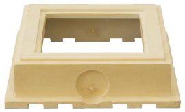 HL636 Szivárogtató szekrény magasító elem 93/362x362mm