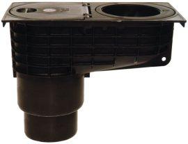 HL660/2-80 Minimax esővíz süllyesztőszekrény DN110/125 lombfogó kosárral, d 80mm illesztő gyűrűvel és mechanikus bűzzárral