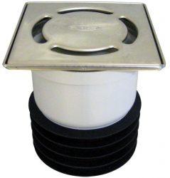 HL73Pr Komplett padlólefolyó Primus szifonbetéttel, DN110 csőcsonkba dugható