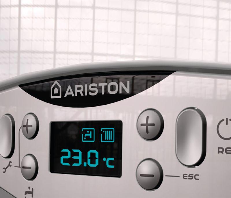 Ariston Cares Premium 24 EU fali kondenzációs kombi gázkazán / fali kazán, 24 kW-os, ErP, 3300759