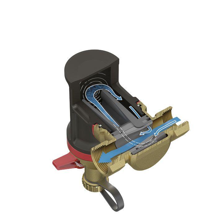 Flamco Clean Smart mágneses iszapleválasztó, 22 mm, cikkszám: 30022