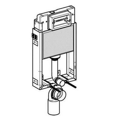 Geberit 110.300.00.5 Kombifix WC szerelőelem , beépíthető/ befalazható wc tartály/ UP320 öblítőtartállyal