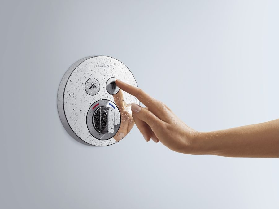 HansGrohe ShowerSelect S 2 fogyasztós csaptelep / falsík alatti szereléshez / 15748000 / 15748 000