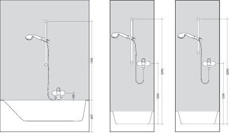 HansGrohe Croma Select E 1jet zuhanyszett 0,90 m / króm-fehér / 26594400 / 26594 400