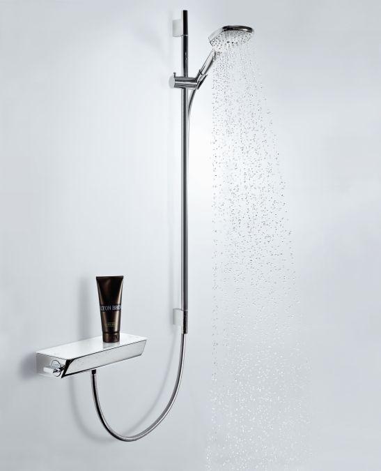 HansGrohe Raindance Select 120 / Unica'S Puro zuhanyszett 0,90 m / fehér-króm / 26621400 / 26621 400