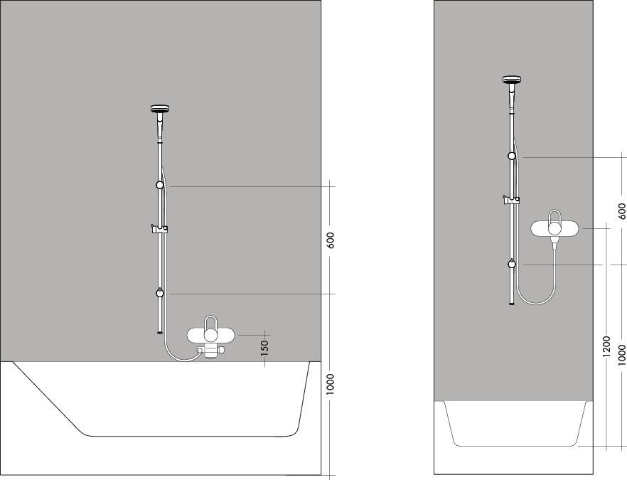 HansGrohe Croma 100 Multi/Unica'Reno Lift zuhanyszett 1,05 m DN15 / króm / 27791000 / 27791 000