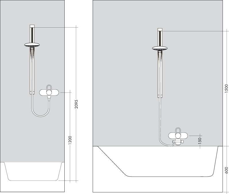 HansGrohe Raindance S 120 AIR 3jet/Unica'S Puro zuhanyszett 0,65 m DN15 / króm / 27886000 / 27886 000